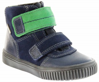 Richter Kinder Winter Sneaker Warm blau SympaTex Jungen 6833-831-7201 atlantic grass Sprint – Bild 1