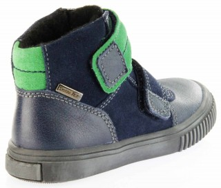 Richter Kinder Winter Sneaker Warm blau SympaTex Jungen 6833-831-7201 atlantic grass Sprint – Bild 3