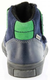 Richter Kinder Winter Sneaker Warm blau SympaTex Jungen 6833-831-7201 atlantic grass Sprint – Bild 4