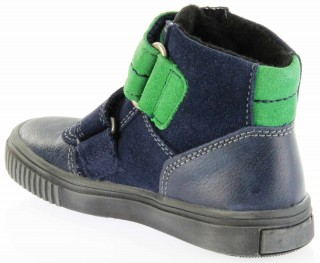Richter Kinder Winter Sneaker Warm blau SympaTex Jungen 6833-831-7201 atlantic grass Sprint – Bild 5