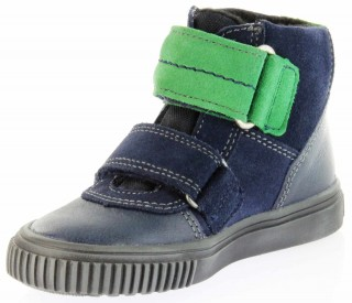 Richter Kinder Winter Sneaker Warm blau SympaTex Jungen 6833-831-7201 atlantic grass Sprint – Bild 8