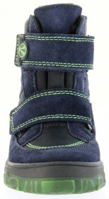 Richter Kinder Winter Stiefel blau Velour SympaTex Jungen-Schuhe Warm 7333-831-7201 atlantic Kite – Bild 9