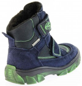 Richter Kinder Winter Stiefel blau Velour SympaTex Jungen-Schuhe Warm 7333-831-7201 atlantic Kite – Bild 3