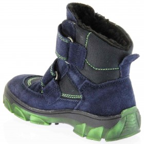Richter Kinder Winter Stiefel blau Velour SympaTex Jungen-Schuhe Warm 7333-831-7201 atlantic Kite – Bild 5