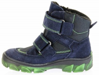 Richter Kinder Winter Stiefel blau Velour SympaTex Jungen-Schuhe Warm 7333-831-7201 atlantic Kite – Bild 7