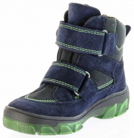 Richter Kinder Winter Stiefel blau Velour SympaTex Jungen-Schuhe Warm 7333-831-7201 atlantic Kite – Bild 8