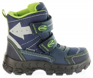 Richter Kinder Winter Stiefel Boots Blinkie Warm blau Tex Jungen 7932-831-7202 atlantic WMS Davos – Bild 2