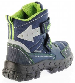 Richter Kinder Winter Stiefel Boots Blinkie Warm blau Tex Jungen 7932-831-7202 atlantic WMS Davos – Bild 3