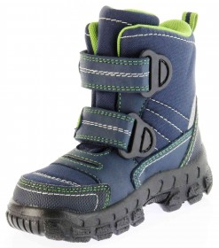 Richter Kinder Winter Stiefel Boots Blinkie Warm blau Tex Jungen 7932-831-7202 atlantic WMS Davos – Bild 8