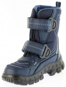 Richter Kinder Winter Stiefel Boots blau SympaTex Warm Jungen 7931-831-7205 atlantic WMS Davos – Bild 8