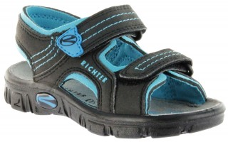 Richter Kinder Sandaletten Outdoor black Lederdeck Jungen-Schuhe 8101-141-9903 Adventure