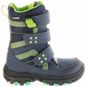 Richter Kinder Winter Stiefel Boots blau SympaTex Warm Jungen 8550-241-7201 atlantic WMS Tundra – Bild 2