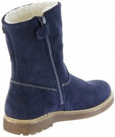 Richter Kinder Winter Stiefel blau Velourleder SympaTex Warm Mädchen 4750-242-7200 atlantic Audi – Bild 5
