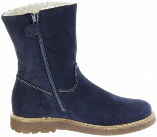Richter Kinder Winter Stiefel blau Velourleder SympaTex Warm Mädchen 4750-242-7200 atlantic Audi – Bild 7