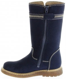 Richter Kinder Winter Stiefel blau Velourleder SympaTex Warm Mädchen 4752-241-7200 atlantic Audi – Bild 7