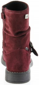 Richter Kinder Winter Stiefel rot Velourleder SympaTex Warm Mädchen 4251-241-7400 port Mary – Bild 4