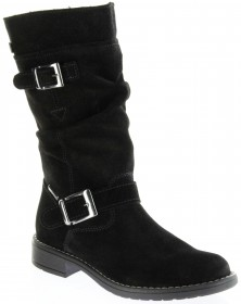 Richter Kinder Winter Stiefel schwarz Velour Warm SympaTex Mädchen 4250-241-9900 black Mary