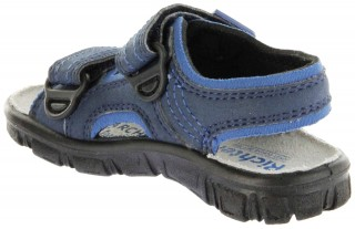 Richter Kinder Sandaletten Outdoor blau Lederdeck Jungen 8101-341-7201 atlantic Adventure – Bild 5
