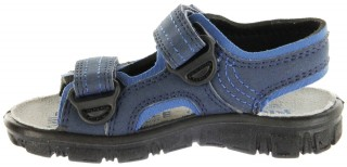 Richter Kinder Sandaletten Outdoor blau Lederdeck Jungen 8101-341-7201 atlantic Adventure – Bild 7