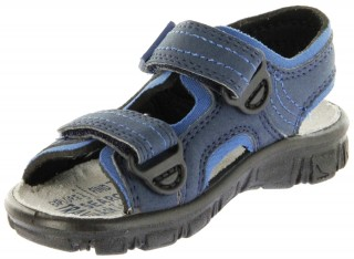 Richter Kinder Sandaletten Outdoor blau Lederdeck Jungen 8101-341-7201 atlantic Adventure – Bild 8