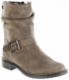 Richter Kinder Winter Stiefel braun Velourleder RichTex Warm Mädchen 4251-441-1900 almond Mary – Bild 1