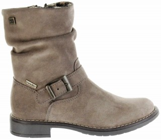 Richter Kinder Winter Stiefel braun Velourleder RichTex Warm Mädchen 4251-441-1900 almond Mary – Bild 2