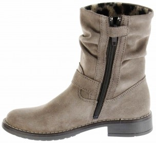 Richter Kinder Winter Stiefel braun Velourleder RichTex Warm Mädchen 4251-441-1900 almond Mary – Bild 5